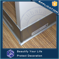 Authentic stainless steel skirting aluminum baseboard skirting board