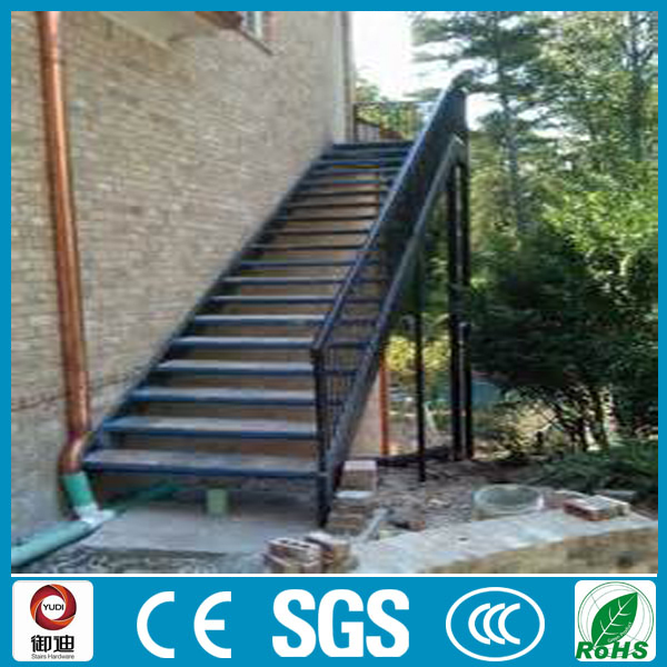 outdoor powder coated iron stair price