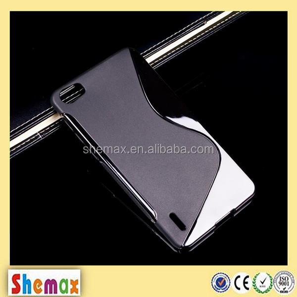 Hot-selling s-line wholesale price clear case for huawei p8 lite,Back cover for huawei p8 lite