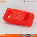 RED Useful Soft Handy Custom Talkie Silicone Case Making Manufacturer