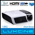 Hottest! China Cheap Real 3D Effect 2D~ 3D Conversion HDMI projector TV projector