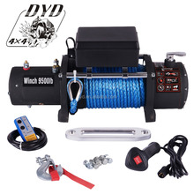 UZL-9500D-s retailer synthetic 12v electric 4x4 winch