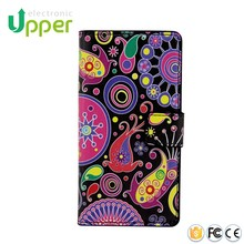 Customize PU cell phone bumper flip leather phone cover case for huawei y6 ascend y600 y640 y620 y635 y630