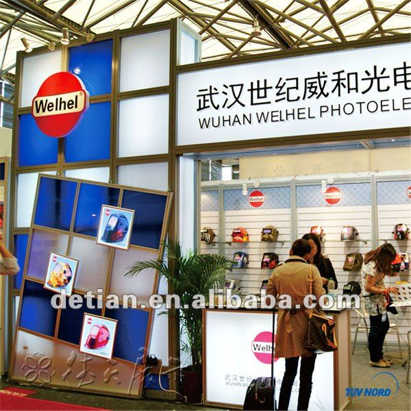 Different customized exhibit booth rental in Shanghai International Expo Center