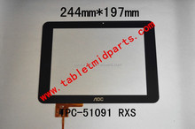 9.7inch Tablet PC Digitizer Touch Screen Panel Replacement part- TPC-51091 RXS