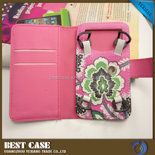 High quality Universal mobile phone holster leather cover case