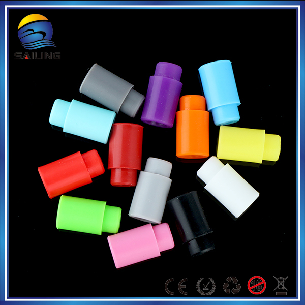 Cheaper 510 drip tip silicone mouthpiece cover, Disposable Tester Cap drip tips