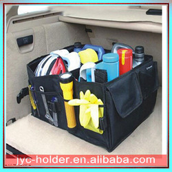 Foldable Car Boot Organiser with Cooler Bag