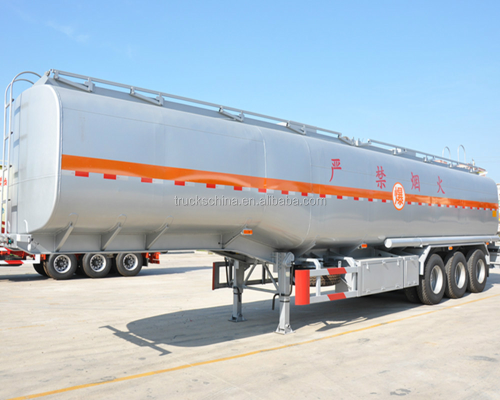 Tri-axle 40000 liters semi trailer fuel tanker trailer truck trailer