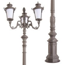 Classic design antique street light garden lights e27 fixture