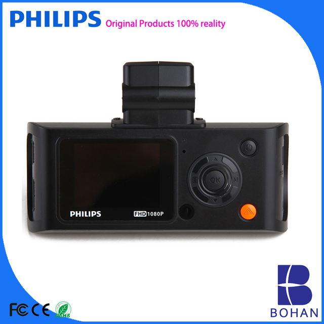 Philips Car Dvr Dash Cam Vehicle Video Recorder for Black Box Used