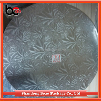 Shandong manafactures disposable white cardboard cake circles