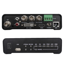 All types video sources 1080P60 video encoder for live streaming and recording simutaneously stream video to 4 platforms