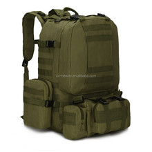 11 Colors Large Capacity 50L Molle Nylon Tactical Assault Outdoor Military Rucksacks Backpack Camping Bag Traveling Back pack