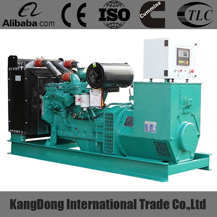 CE approved 100KVA diesel generator set with low fuel consumption