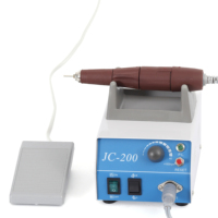 2019 Hot Sale USA Market Electric Manicure pedicure machine Nail Art File Drill Pen 6 Bits portable nail drill JC-200