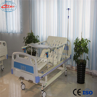A03-1Hot sale! Good quality hospital bed with four ABS castors