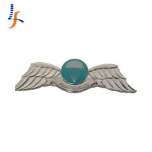 Custom Metal Pilot Wings Pin Badge