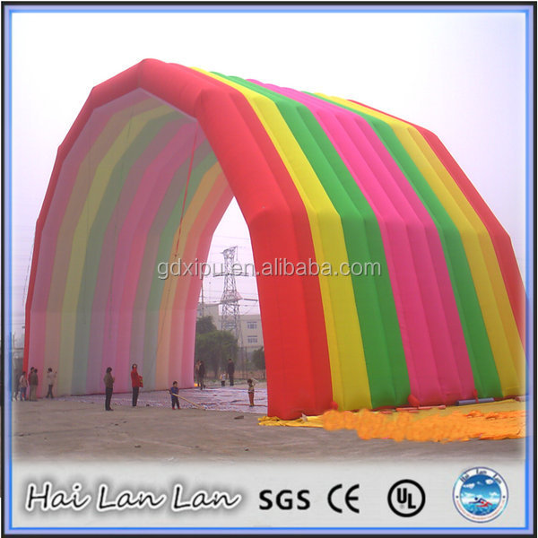 inflatable promotional misting tent arch on sale