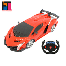 cheap price 1:20 scale 4ch light up steering wheel remote control cars for adults