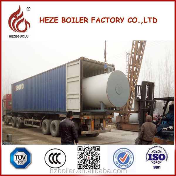 Hot Sale Italy Burner Horizontal Thermal Fluid Heater for Oil Industry