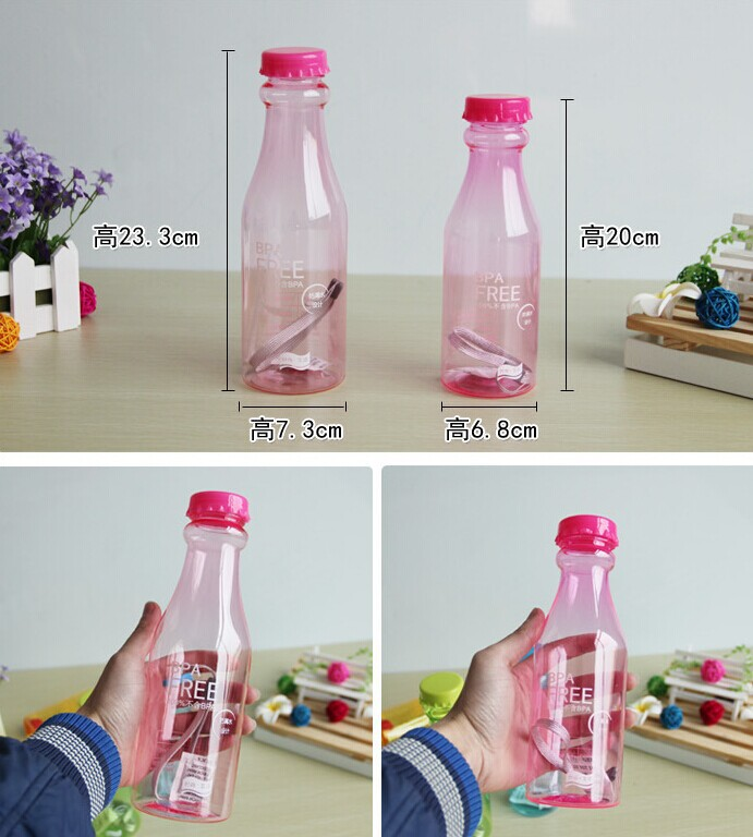 Newest sport bottle plastic with infusor,sport bottle plastic