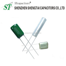 Factory price polyester film 10uf 400v capacitors