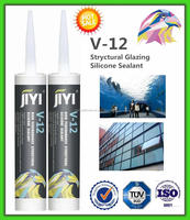 One component Acetoxy Silicone Sealant for Large Glass Panel with factory price , fast cure , RTV