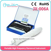 D'arsonval high frequency with 4 glass pipes JX-006A CE & ROHS