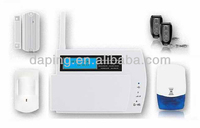 GSM Security Alarm for home protection , SMS Alert feature ,lcd display