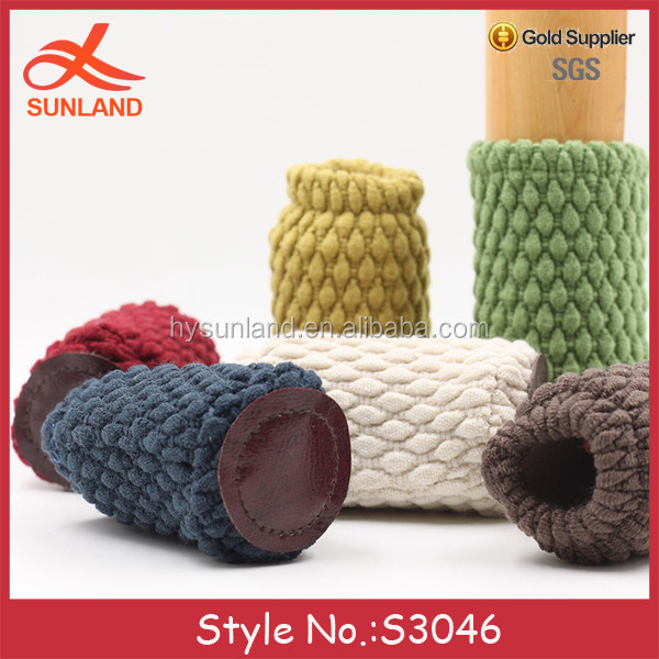 S3046 new furniture table chair leg cozy chair leg socks knitted chair floor protectors