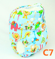 C7 YiWu ChangHe 100% Polyester +TPU 2016 Design Reusable Baby Diapers