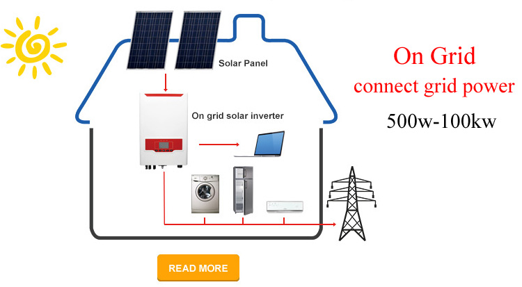 2018 off grid 5000w solar generator for solar system
