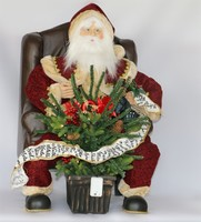 XM-CH1550 32 inch lighted up outdoor plastic santa clause