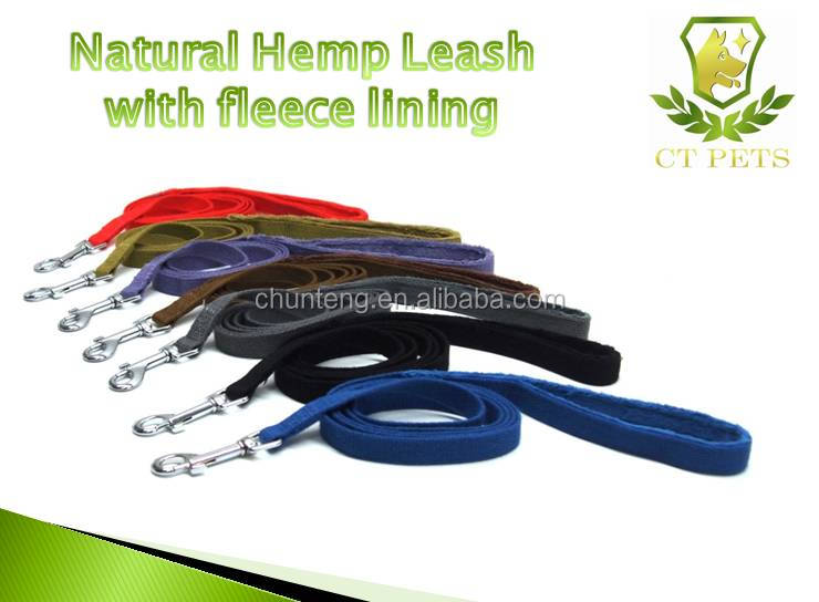 HIGH quality hemp dog leashes