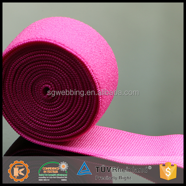 wholesale low price spandex durable woven webbing elastic for lingerie