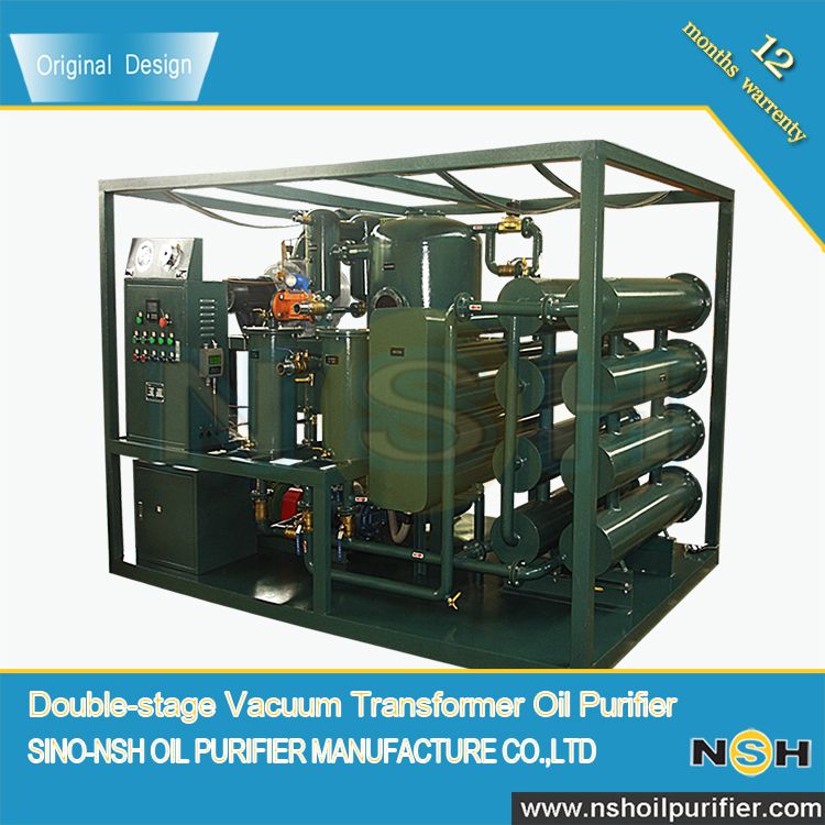 VFD-R-200 Double-Stage Vacuum Insulation Oil Regeneration Purification machine