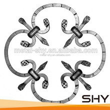 wrought iron forging products for fence