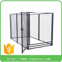 wholesale low price high quality Custom logo modular dog kennel fence panels