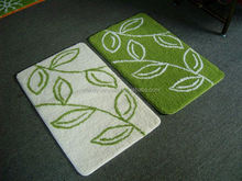 Water Retaining Terry Cloth Bath Mats