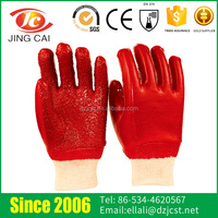 Oil-resistant Safety Working PVC Gloves for Petroleum Industrial
