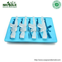 Nicole Custom Gun Shape Silicone Ice Molds