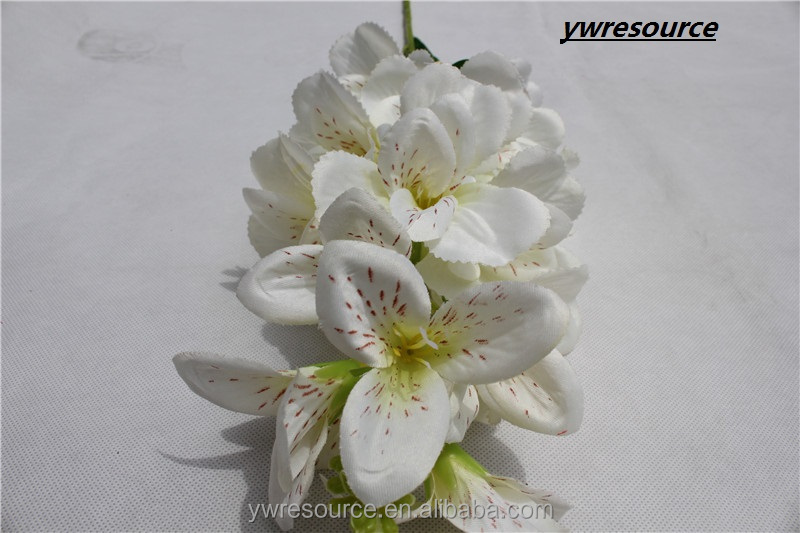 artificial flowerorchid white fake orchid flower for wedding