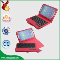 OEM ODM service factory tablet case cover for Samsung Galaxy Tab 3 8 inch T310 T311 with 3.0 wireless keyboard