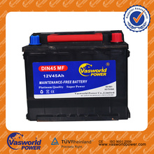 12V45ah Rechargeable Mf Global Auto Car Battery NS60Z Mf Battery