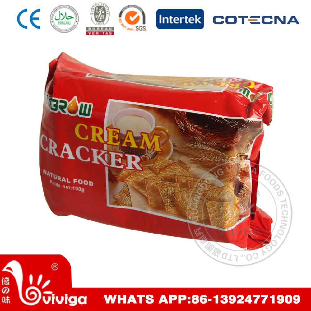 hot sale cream cracker from professional biscuit manufacturers