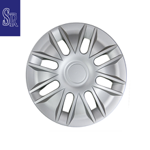 Universal auto parts 13 inch silver ABS car wheel trim cover