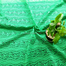 Top sale italy fashion knitted cord lace fabric for making dress,jacquard polyester lace fabric