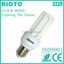 2017New Products 8000Hrs 3U 24W Energy Saving Lamp cfl Light Bulb