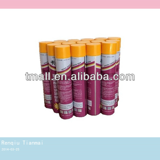750ML HK Great Stuff PU Foam Sealant Spray Foam Insulation Polyurethane Foam Manufacturer